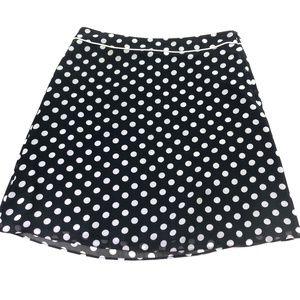 Esprit Collection Women Polka Dot Black Skirt Q224